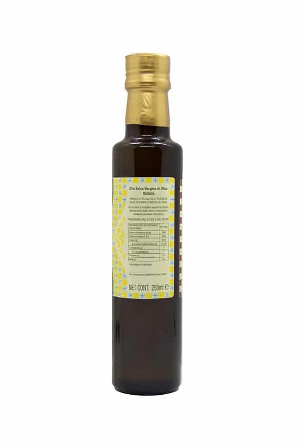 bottiglia 250 ml olio left