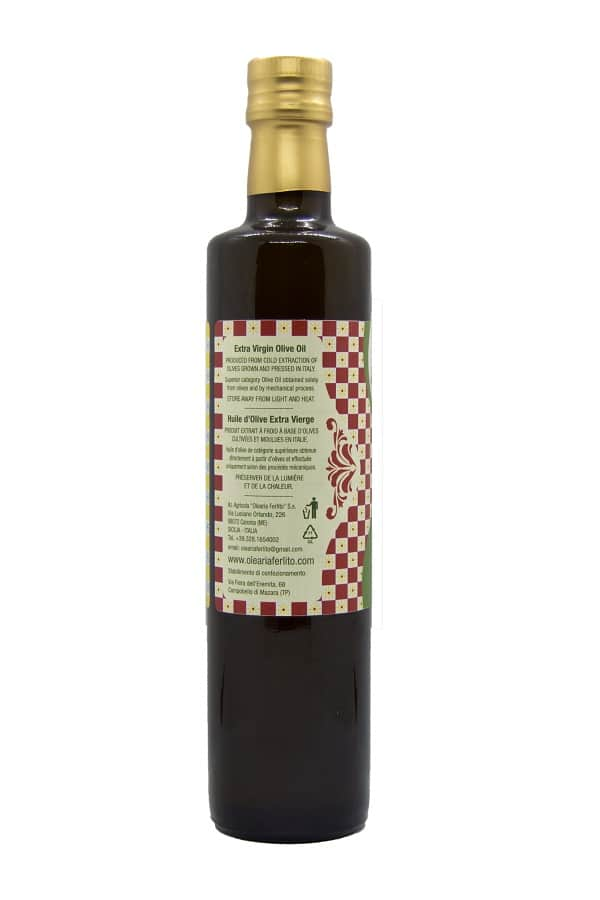 bottiglia 500 ml olio right