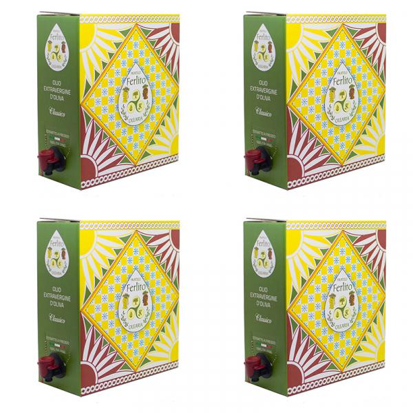 4 bag in box olioevo 5l