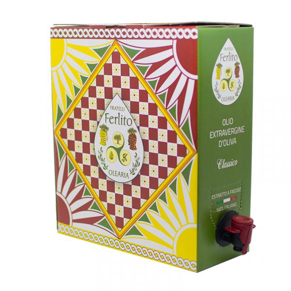 bag in box olioevo 5L 2