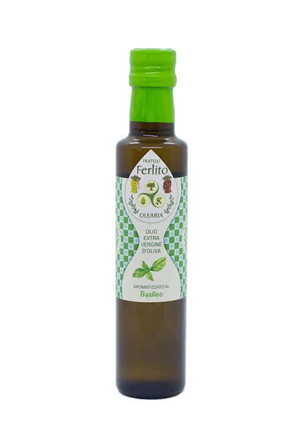 olio aromatizzato basilico